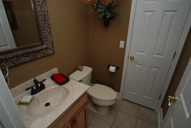 Additional Half Bath Downstairs